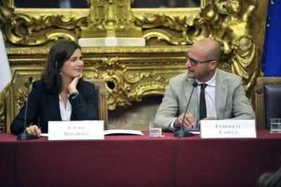 Montecitorio, Sala Aldo Moro – Presentazione di 'Generazione 2.0′ di Federico Capeci